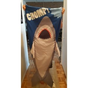 Shark cuddle blanket